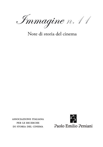 Immagine 11 note di storia del cinema