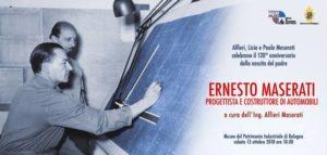 Convegno per il 120° Anniversario di nascita di Ernesto Maserati