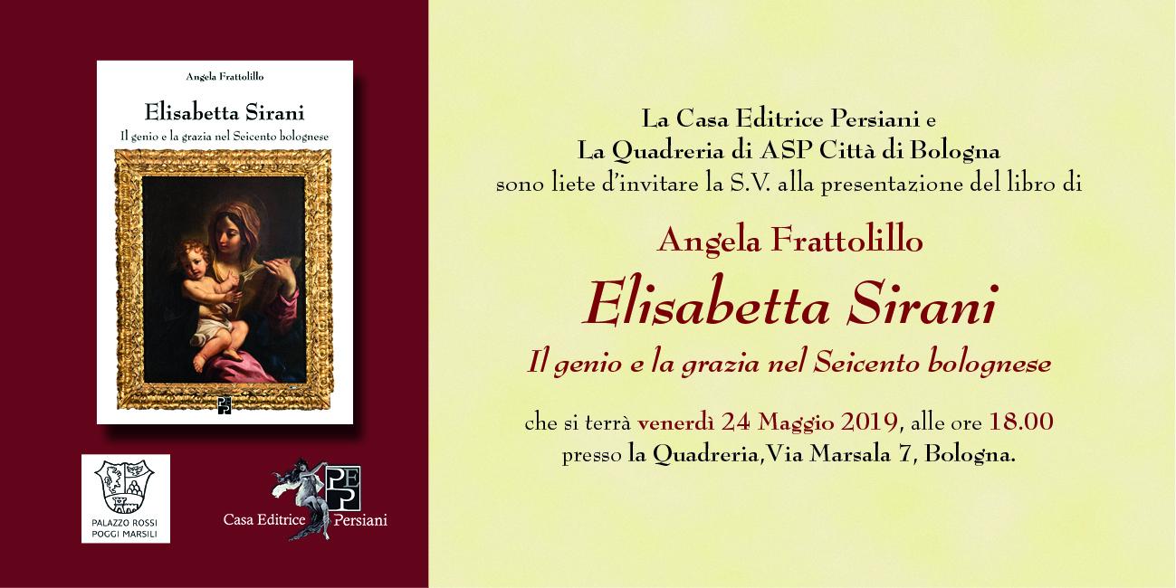 Presentazione del libro Elisabetta Sirani La Quadreria