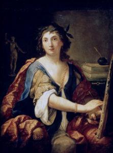 Elisabetta Sirani autoritratto