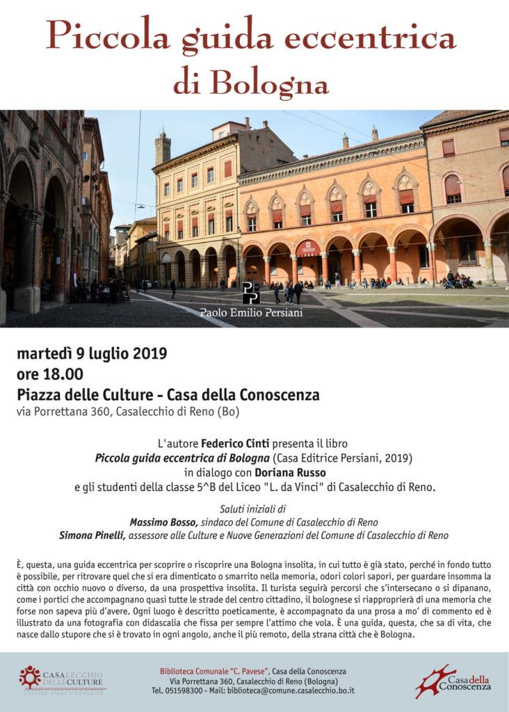 Presentazione piccola guida eccentrica di Bologna