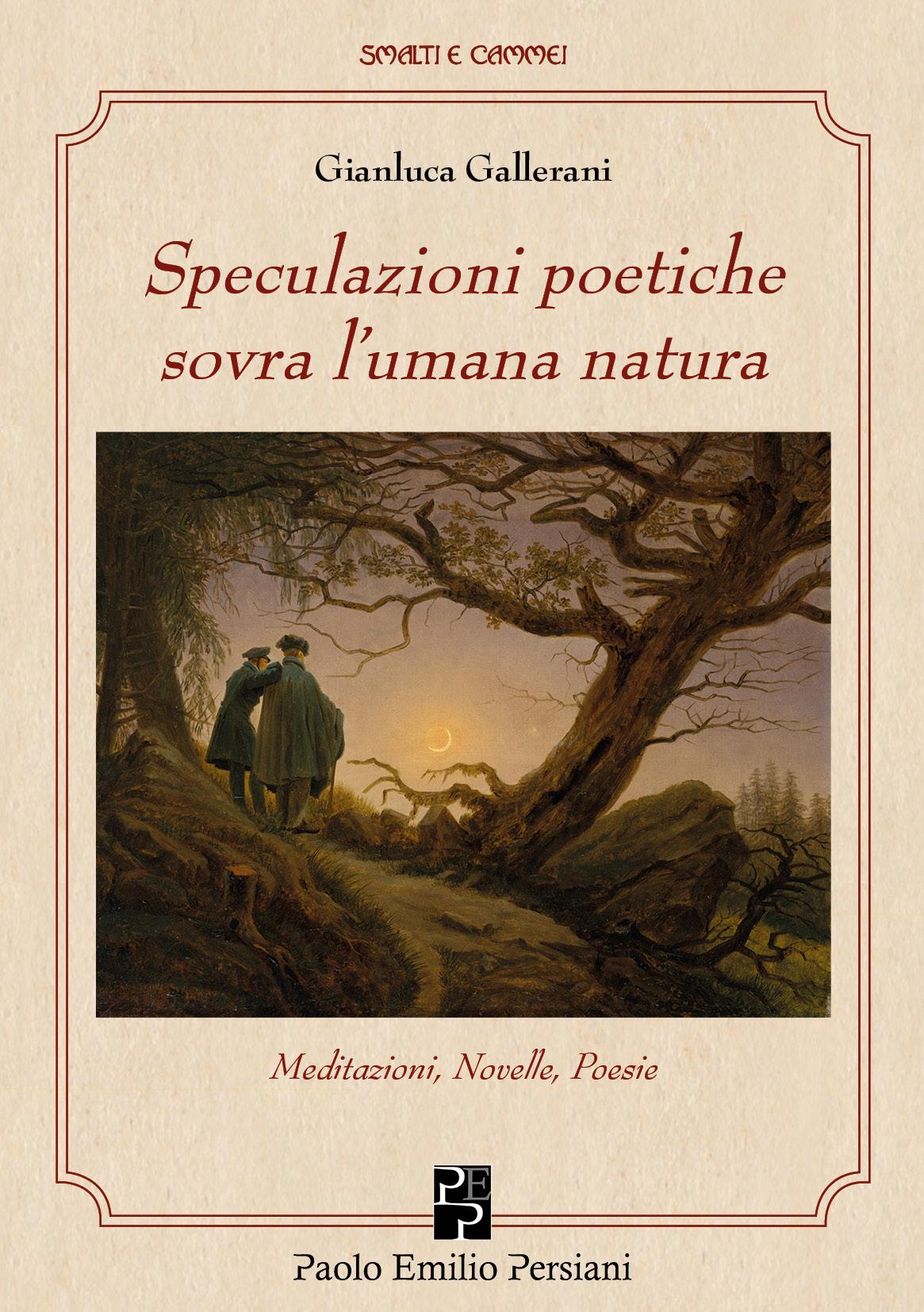 Speculazioni poetiche sovra l'umana natura